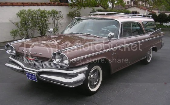 1960 Dodge Polara 9-Passenger Wagon