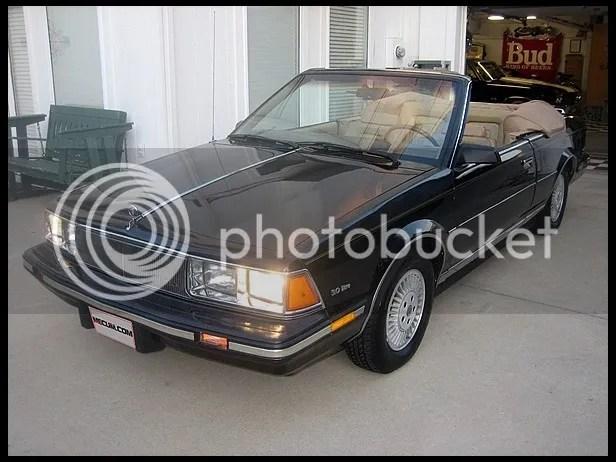 1985 Buick Century Convertible