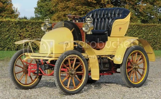 1900 Decauville Roadster