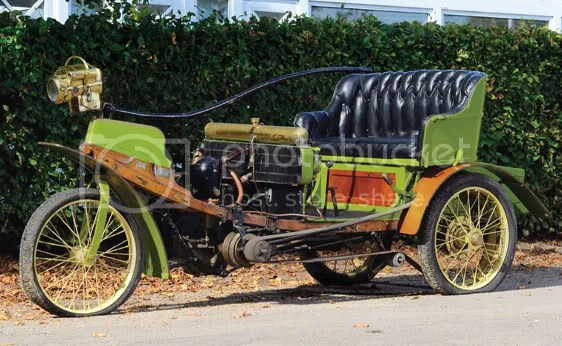 c. 1902 Lacroix de Laville La Nef Tricycle