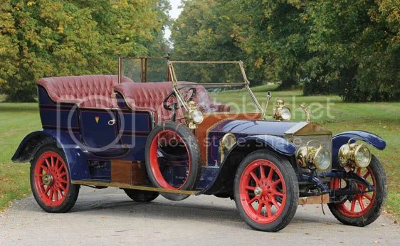 1911 Rolls-Royce 40/50 HP Silver Ghost Roi des Belges Tourer