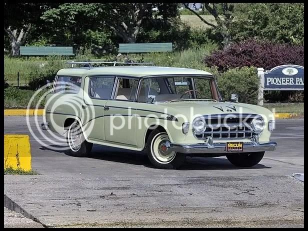 1956 Hudson Rambler Wagon
