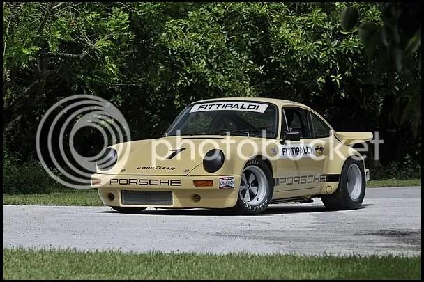 1974 Porsche 911 RSR IROC - Emerson Fittipaldi