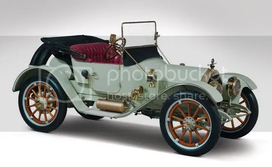 1912 Chalmers Model 9 Torpedo Roadster