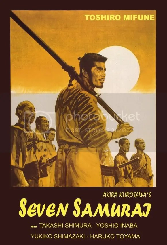 Analysing Seven Samurai (1954)  (1/3)