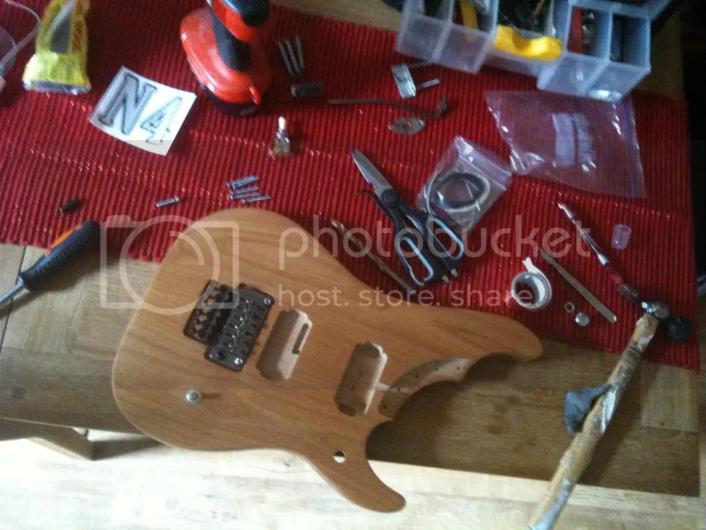 Nuno Bettencourt N4 custom build (4/6)