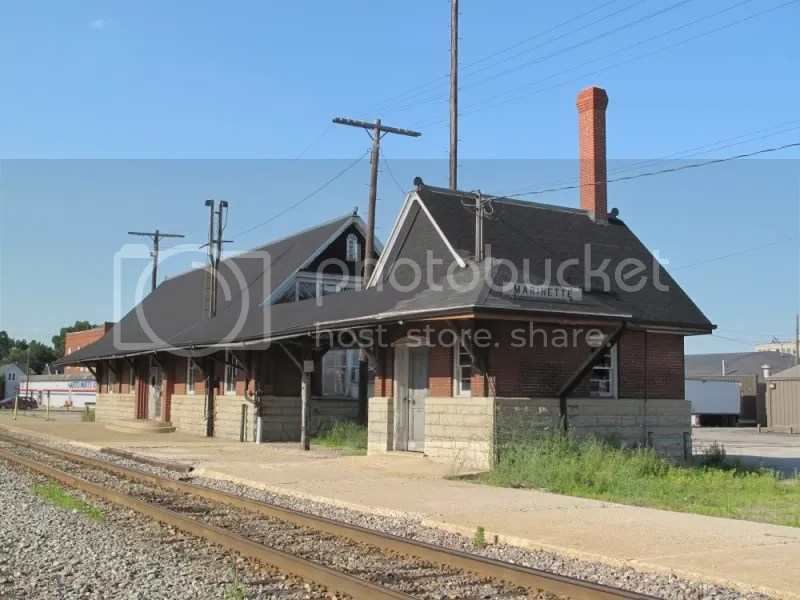 Chicago & Northwestern Marinette Wisconsin Railroad Depot