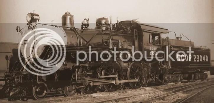 SCOP 4-6-0 locomotive