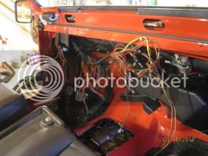 Dash wire clean up  JeepForum