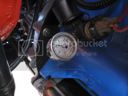 small resolution of  oem electric and a more reliable mechanical gauge just by drill and tapping an additional 1 8 pipe thread in the engine block elbow
