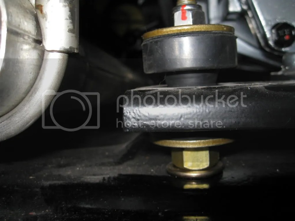 medium resolution of it looks like that transmission poly mount is way to thick and the torque bushing stabilizer bolt is upside down
