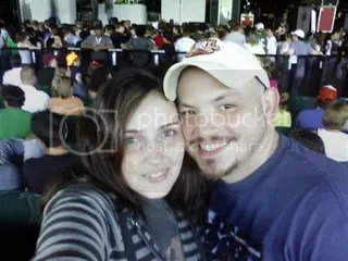 Allison & Terry at FOB concert