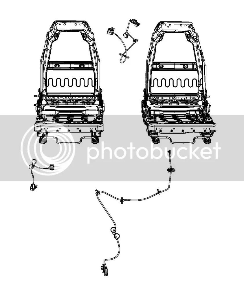 Airbag wiring/Seatbelt pretensioner part identification