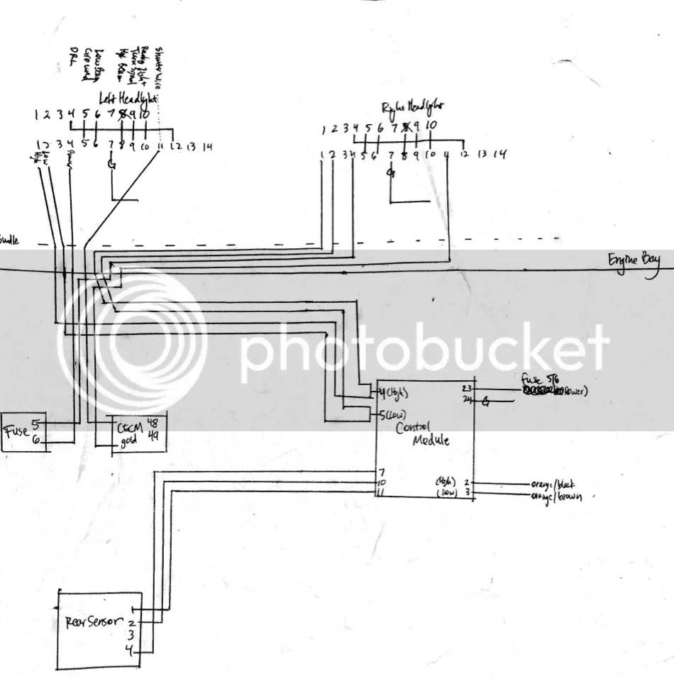 audi a6 c6 wiring diagram where is human liver located vwvortex.com - diy oem afs bi-xenon headlights for mk6 golf/gti