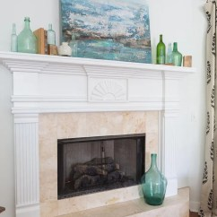 Living Room Mantel Colorful Furniture Sets Spring Plans Perfectly Imperfect Blog Decorating