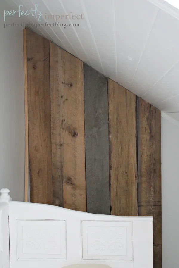 Wallpaper Falling Off Ceiling Build Your Own Removable Plank Wall Perfectly Imperfect