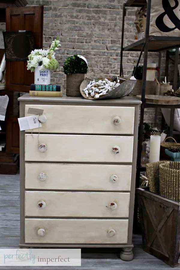 chalk paint   painted furniture   how to paint furniture   perfectly imperfect