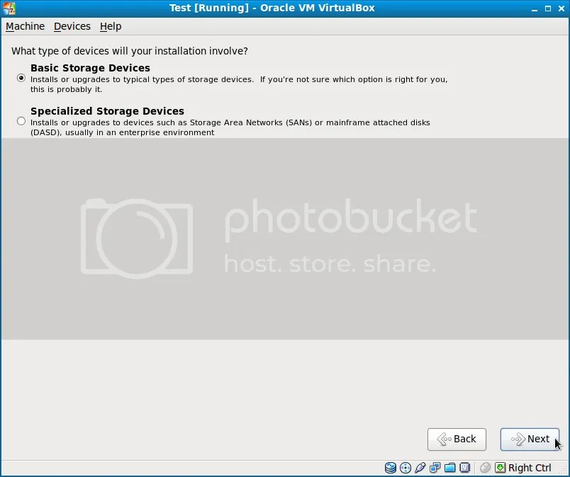 Cài đặt Fedora 13 song song với Windows7 (6/6)