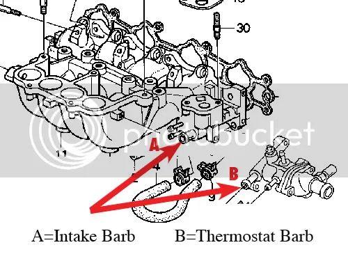 97 ford taurus thermostat location