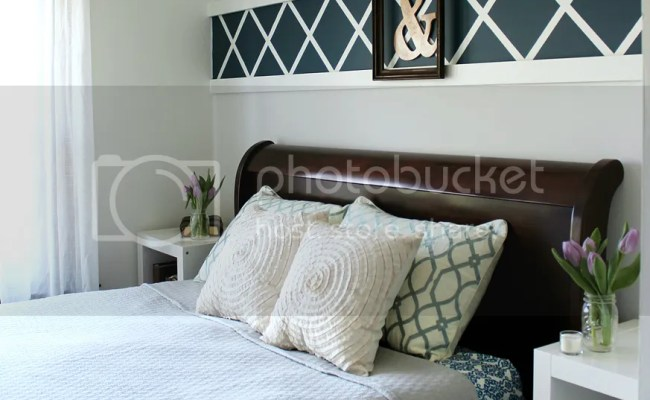 Our Master Bedroom Above The Bed Decor Christinas