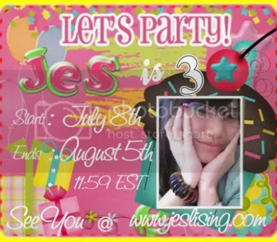Party Giveaway by Jes
