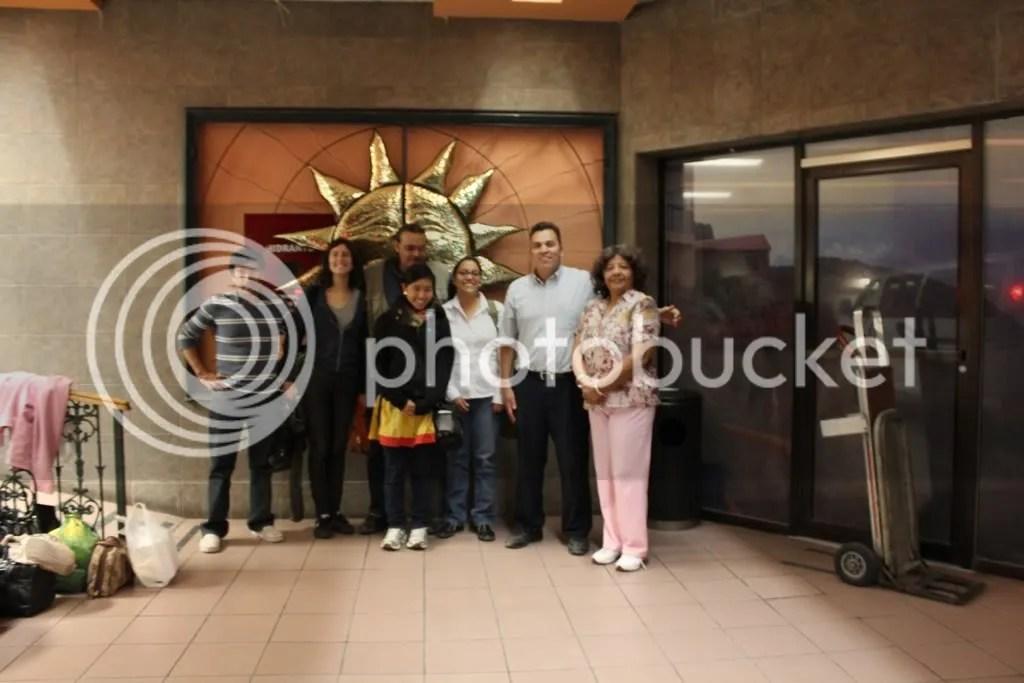 Leo, Sara, Luis Gerado, Alma, Prof De La Rosa and Luz Elena