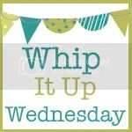 Whip It Up Wednesday Handmade Linky Party