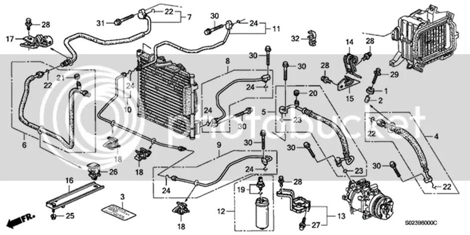 Honda Ac System Diagram, Honda, Free Engine Image For User