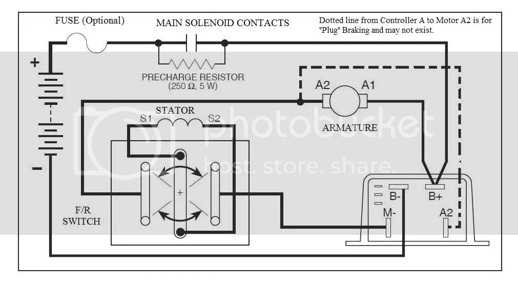 Curtis 1204 Controller Wiring Diagram, Curtis, Free Engine