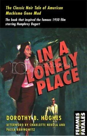 In a Lonely Place Vintage Book Cover