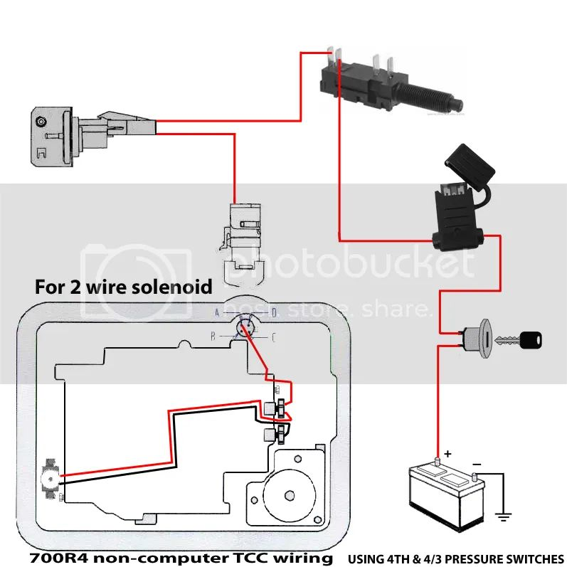 700r4 torqe converter lock up wiring youtube