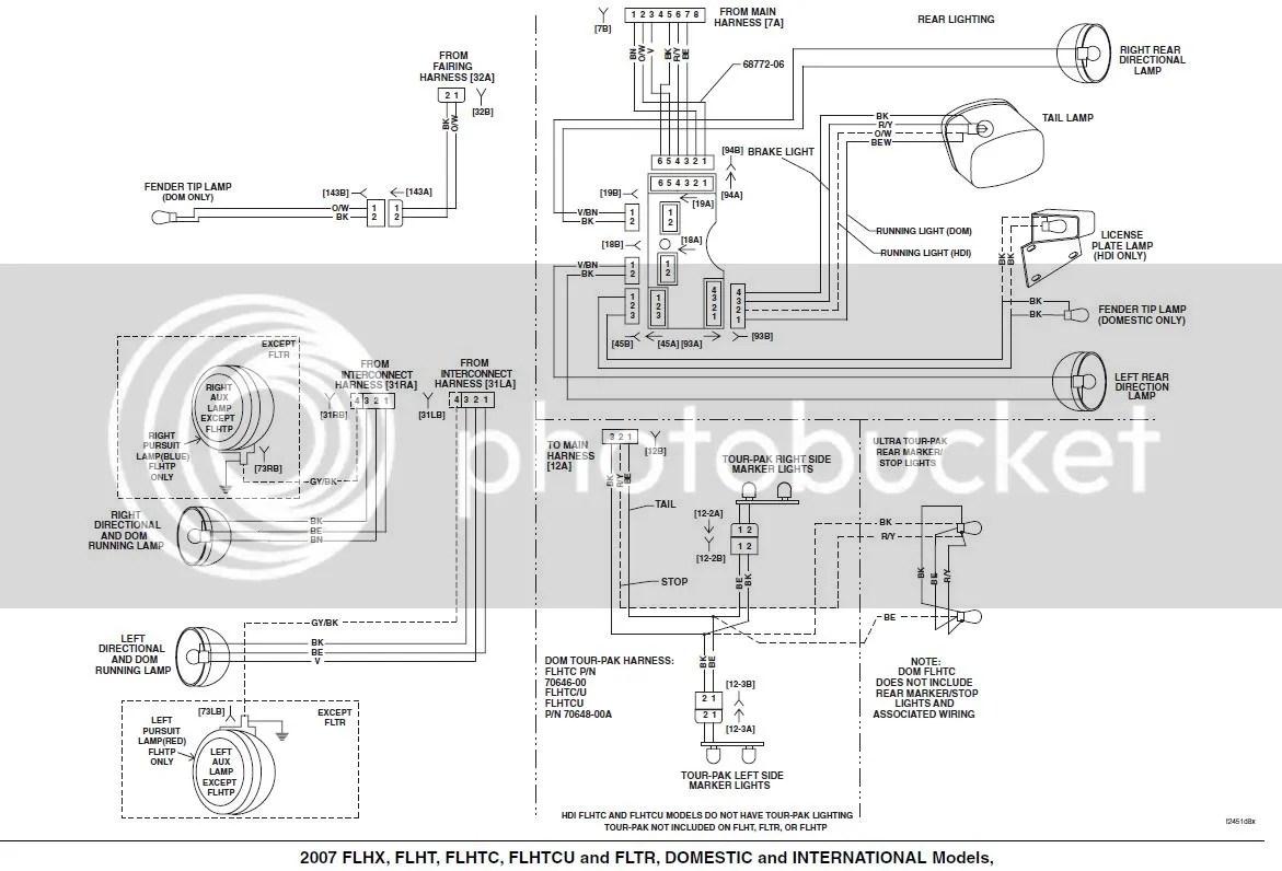 Harley Tail Light Wiring Diagram 02. Harley Turn Signals