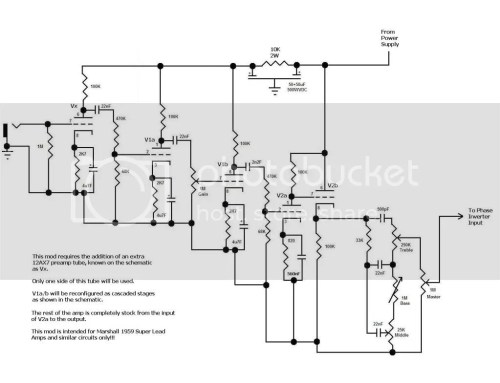 small resolution of re here are some marshall mod schematics
