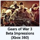 Gears of War 3 Beta Impressions (360)
