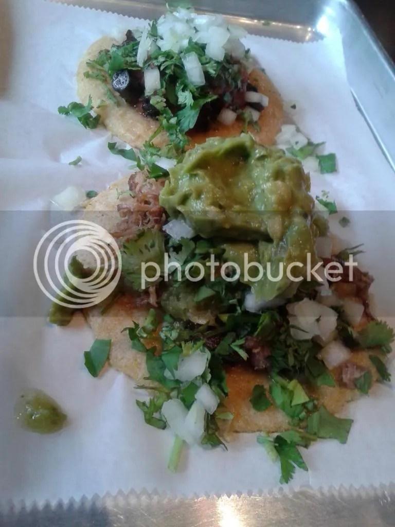 Mushroom & Carnitas Tacos