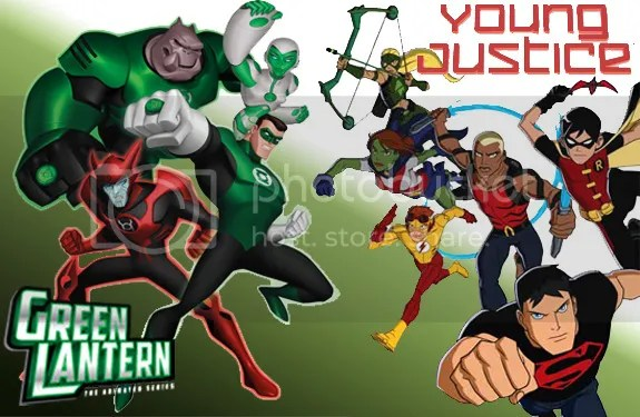 Young Justice/Green Lantern