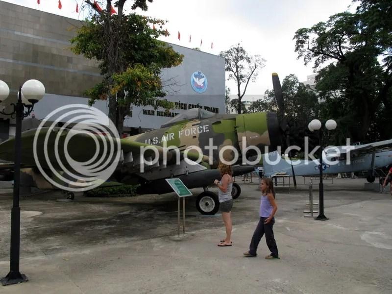 War Remnants Museum, Saigon Vietnam