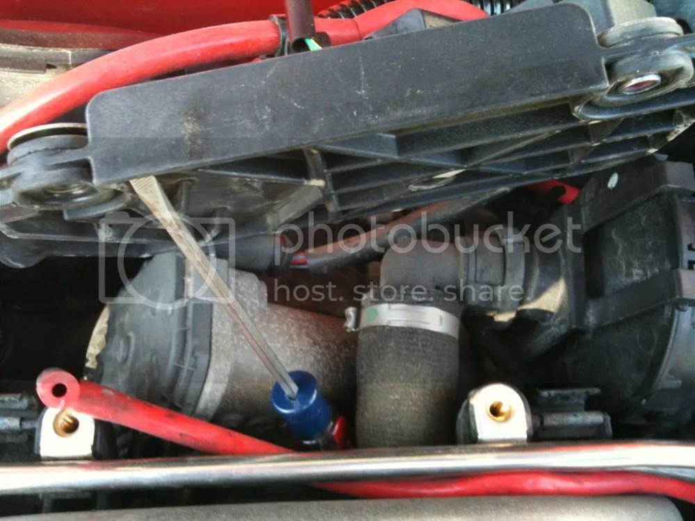 medium resolution of let s move on to the driver s side combi valve hose it will be difficult to see but using your flashlight and mirror you ll be able to find it