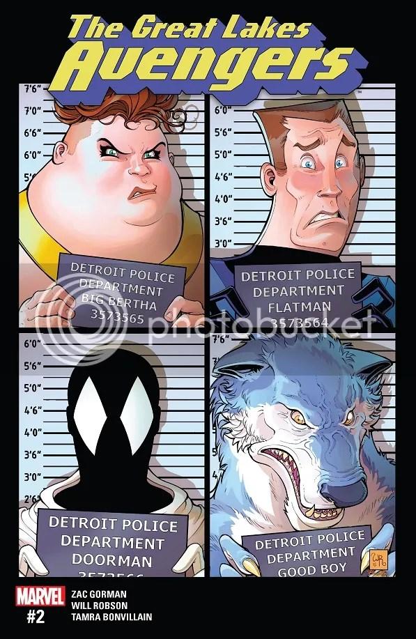 Great Lakes Avengers #2