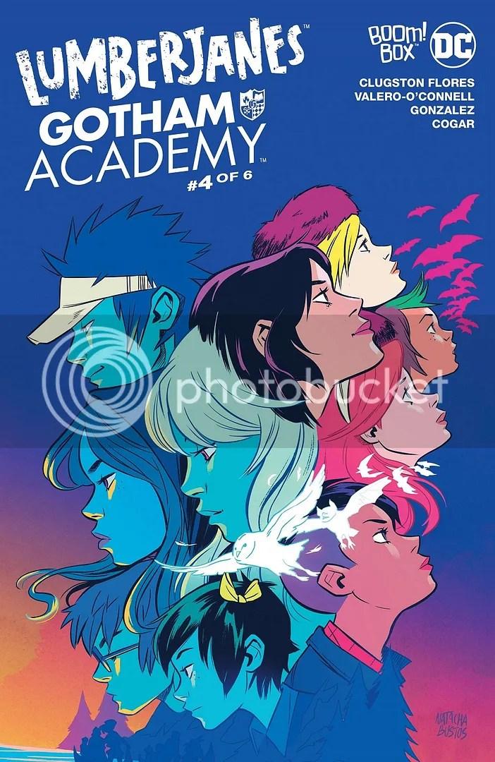 Lumberjanes/Gotham Academy #4