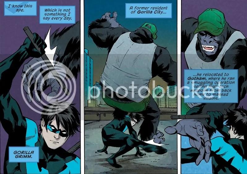 More sentient gorillas!