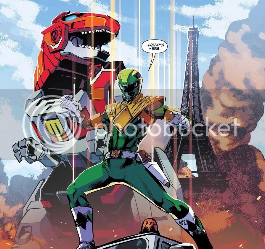 The Red Green Power Ranger!