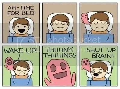 Brain's Want to Stay Up and Party When it's Time for Bed!