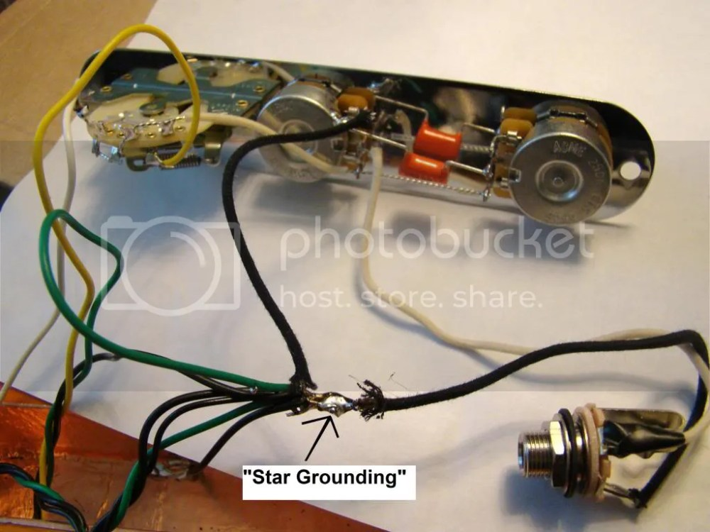 medium resolution of here is a modern telecaster wiring diagram i would move the ground wire from the