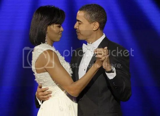 The first dance of the evening at the Neighborhood Inaugural Ball...