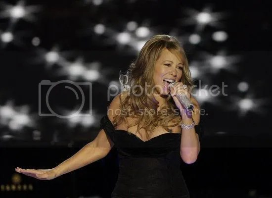 Mariah Carey performs at the Neighborhood Inaugural Ball...