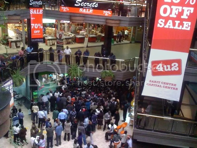 Nokia C3 Chaos at Sarit Centre... (2/4)