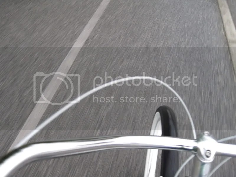 Um. . . a lot of my pics are blurry and look like this.  Im lucky I didnt wreck trying to take pictures and ride!