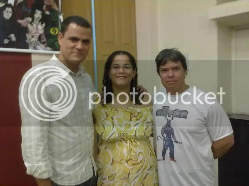 Nestablo Ramos Neto, Michelle Ramos e Eduardo Schloesser