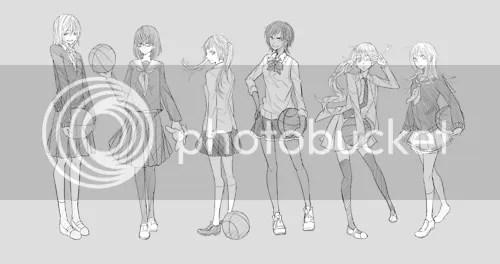 Recruiting Kuroko No Basket Genderbend version STGCC 2012